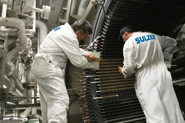 Sulzer Dowding & Mills - 24/7 in-situ electrical repairs - World